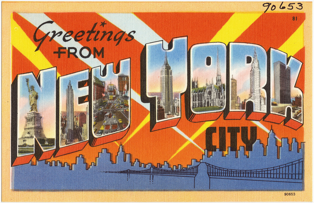 Greetings From New York City