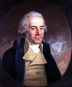 William Wilberforce, Brits parlementarier en abolitionist (1759-1833). Van grote invloed op Wolbers. Afbeelding: Wikipedia.