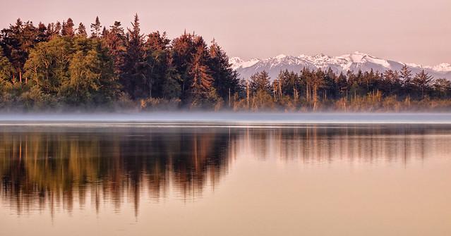 A Pretty Little Lake by the Sea