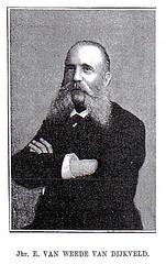 <p>Jonkheer Everard van Weede van Dijkveld (1834-1893), voorvechter van de afschaffing van de slavernij.</p>