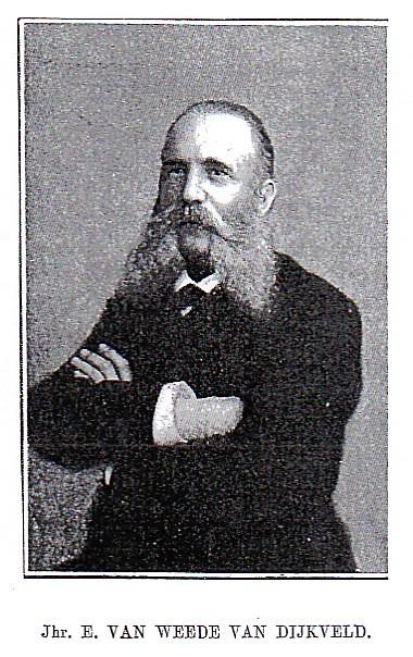 Jonkheer Everard van Weede van Dijkveld (1834-1893), voorvechter van de afschaffing van de slavernij.