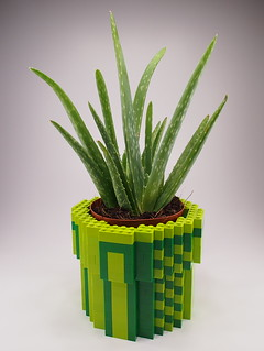 Lego 8-Bit Warp Pipe Planter | by Attacki Works
