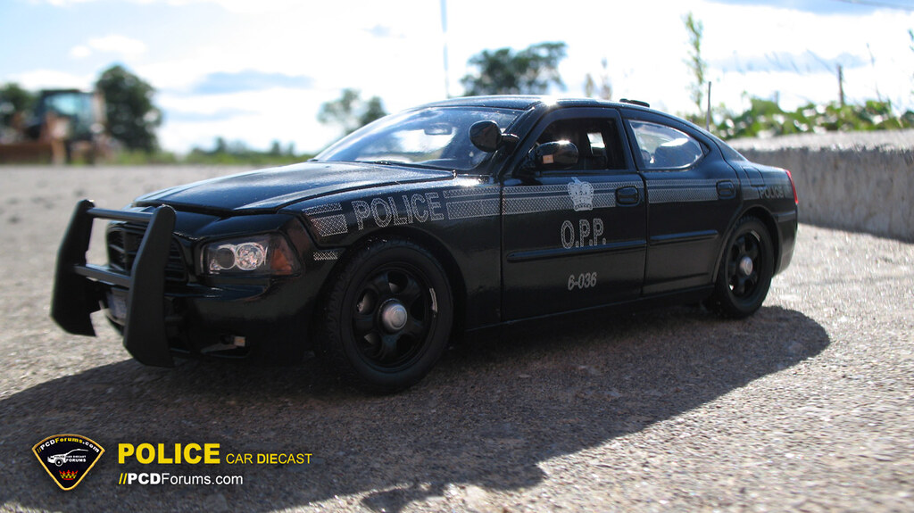 Police Car Diecast Opp Stealth Dodge Charger Custom 1 27 W Flickr