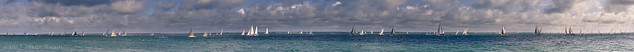 The 'you have gone too far this time' massive Round the Island Race 2012 Panorama