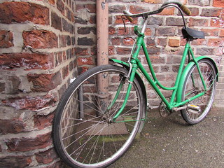 One of the bikes for the York Mystery Plays