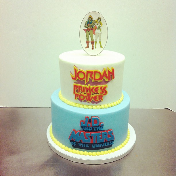 He Man And She Ra Birthday Cake Customcake Austin