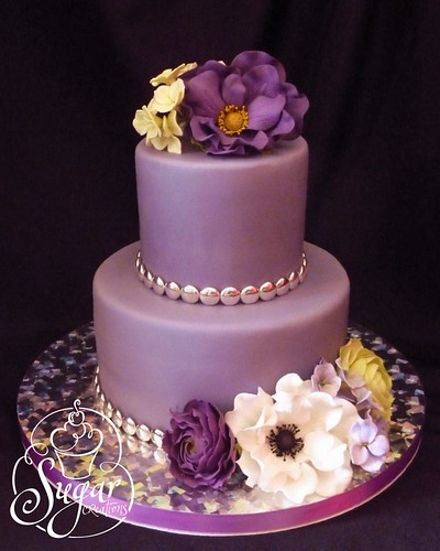 purple birthday cake | by RebeccaSutterby