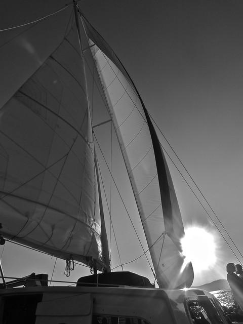 Sailing on Lake Tahoe (2), 2009