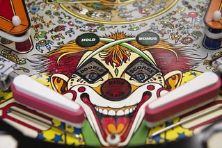Pinball the clown