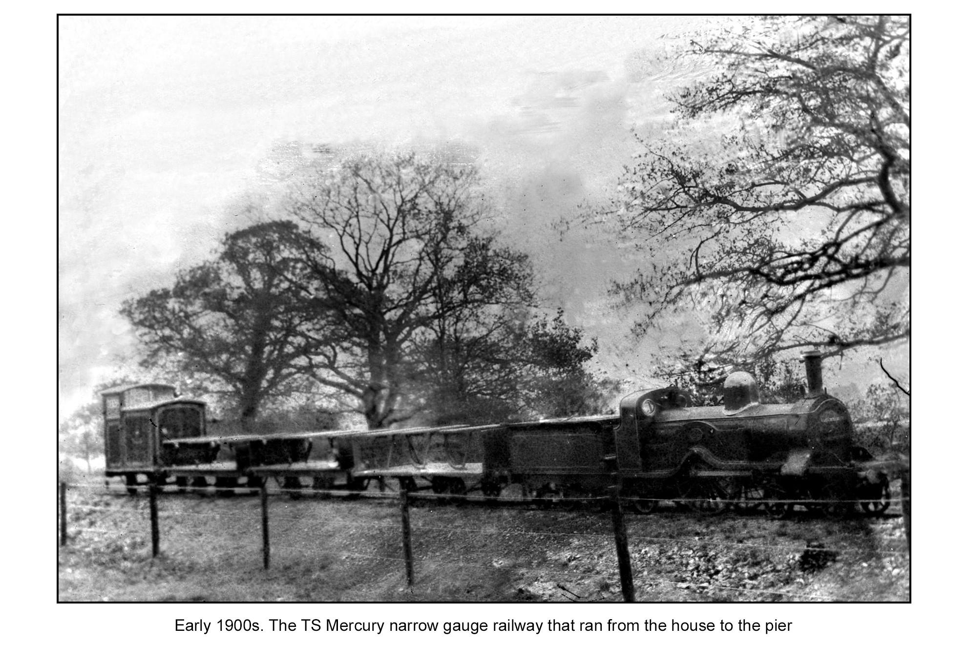 TS Mercury - Railway