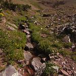 Creek from Redgap Pass