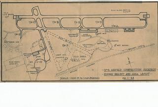 Photograph 0059 - 5ACS RAAF Darwin Runway 11/29 Project Area Layout