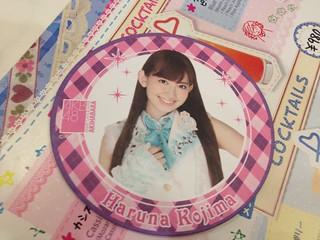 AKB48 café coaster   by kalleboo