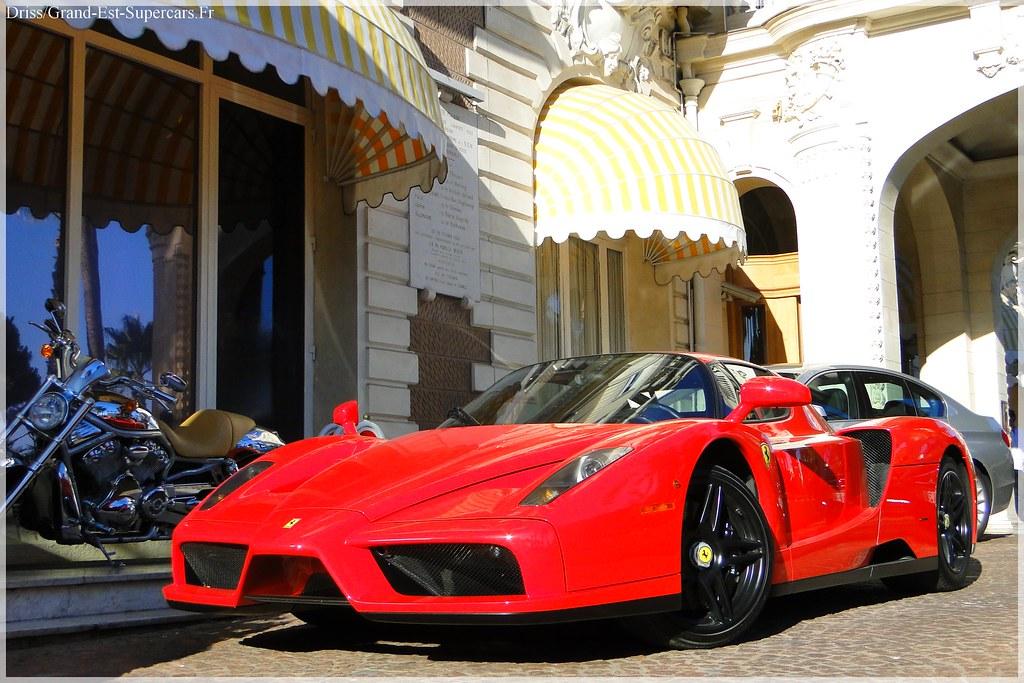 Ferrari Enzo Black Rims in Cannes