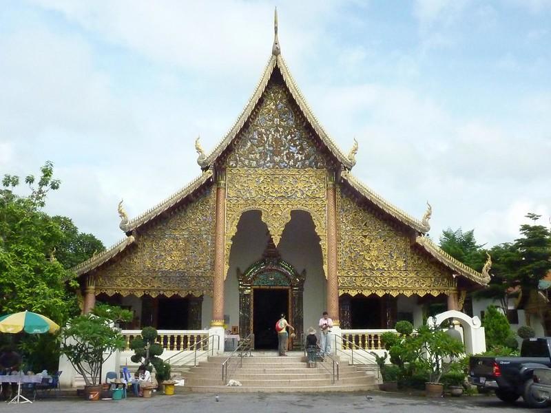 001 Main Viharn, Wat Chiang Man, Chiang Mai