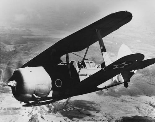 SBC-4 Helldiver in flight