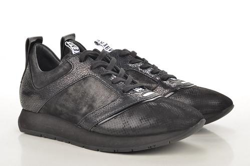 Bikkembergs Runner 724 Sneaker BKW101659 Leder schwarz (black) (1) | by spera.de