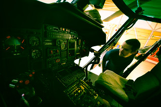 USCGS chopper cockpit | by tomsbiketrip.com