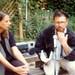 Barbara Henning and Bob Holman Reading at Avenue B Garden 1989