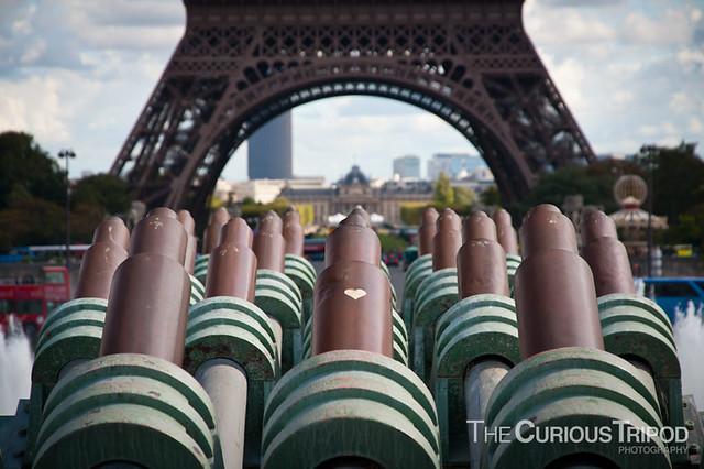 Eifel Tower Cannons