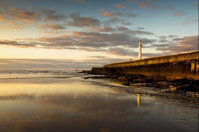 Sunderland  Roker Dawn..