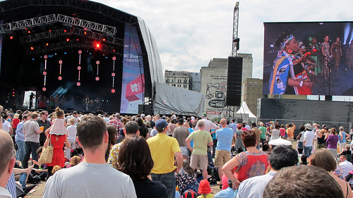 BT River of Music concert: Africa at the new London Pleasure Gardens | by seanfoneill