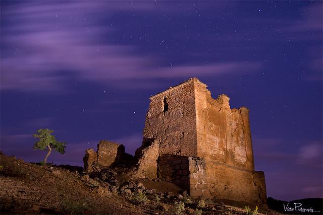 Ruinas de la Iglesia de Valdeancheta.