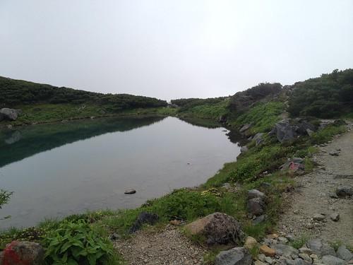 白山 血の池   by ichitakabridge