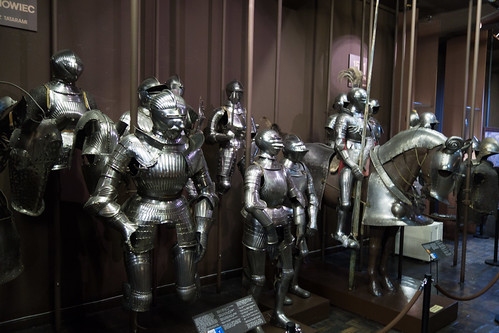 Collection of Polish armour