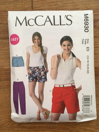 McCall's 6930 Shorts | by patternandbranch