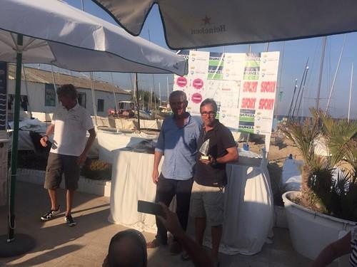 En Jaume va fer un bon paper a la regata de Cabrera de Mar del 10-11 de setembre: 9è a la general i 2n a la categoria de segona