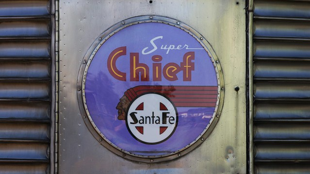 Super Chief Observation at the Colorado Railroad Museum