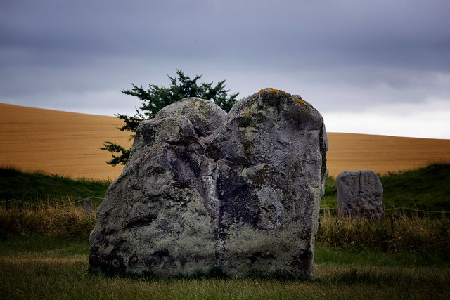 A Megalith At Avebury Stone Circle