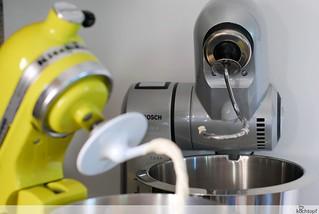 Kuchenmaschinen Test Kitchenaid Gegen Bosch Mum 8 Flickr