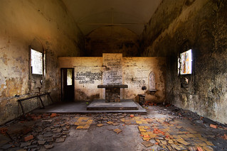 Inside the Old Church, Bokor Hill | by Chea Phal
