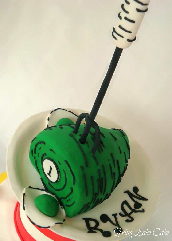 Dr. Seuss Cake   Close up of Green Eggs and Ham Cake ...