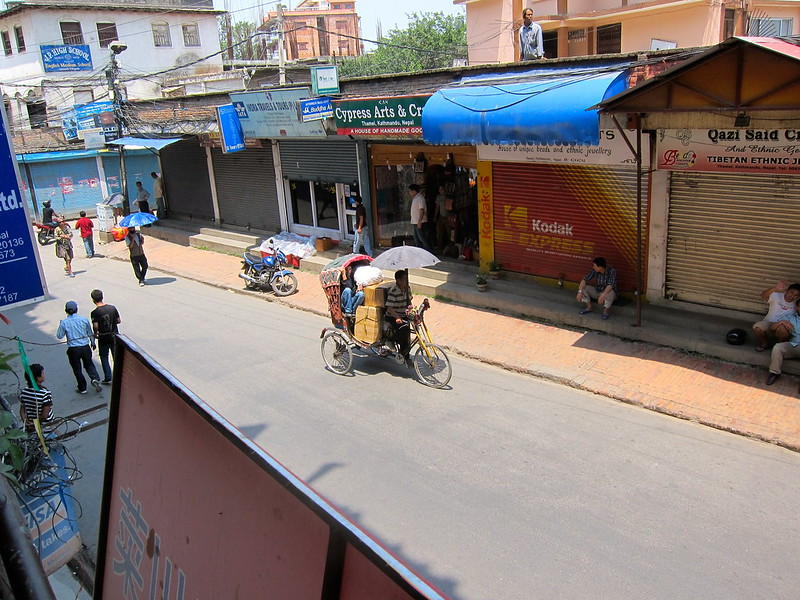 Bandh! Kathmandu, Nepal