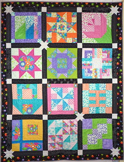 Finished Layer Cake Quilt