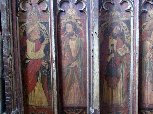 Gooderstone Church, Norfolk, 15c Rood Screen St Peter and St Andrew | by johnevigar