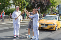 Olympic Torch Relay - Neil Gorman, Vice-Chancellor