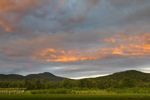 montagne ciel nuages paysage frelighsburg montpinacle
