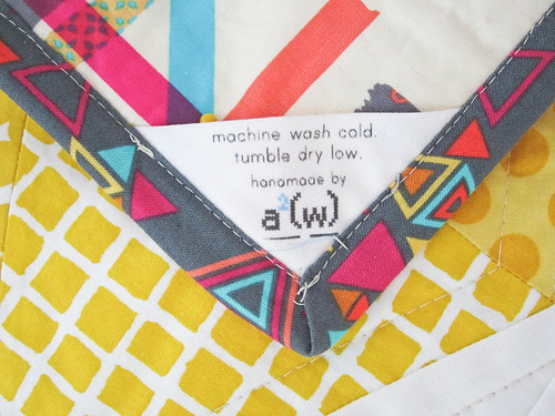 Hexstatic Quilt label | by a²(w) - asquaredw - Ali