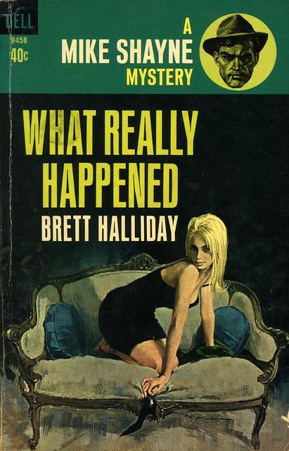 Dell Books 9458 - Brett Halliday - What Really Happened