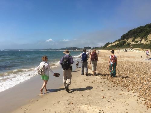 Highcliffe Beach Barton to Bournemouth walk