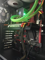 Intel i7 6900k Extreme Gaming PC with Asus ROG motherboard and Nvidia Titan X 12 Graphics card . 64GB of DDR4 3000mhz memory . Built and designed by Irelands PC Specialists www.CUSTOMPC.ie