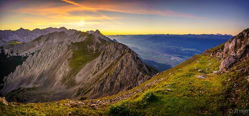 tirol alpine trojer austria mountains fif nordkette panorama jtrojercom alps innsbruck