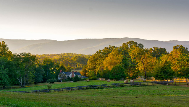 Farm in the Blue Ridge Mountains.