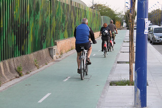 Seville Cycletracks   by BikeTexas