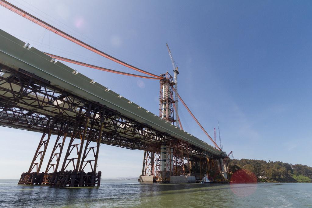 Bay Bridge East span 2012: the SAS