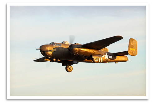 vintage airplane urbana oh warbird mediumbomber grimesfield northamericanb25hmitchell gatheringofb25s